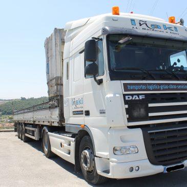 Transporte profesional de mercancías